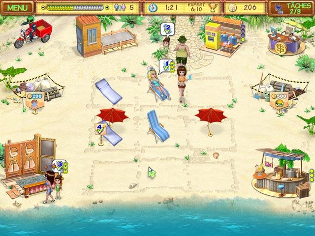 Capture D'écran Du Jeu 1 Beach Party Craze
