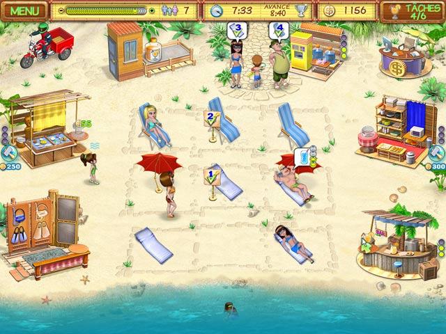 Capture D'écran Du Jeu 3 Beach Party Craze