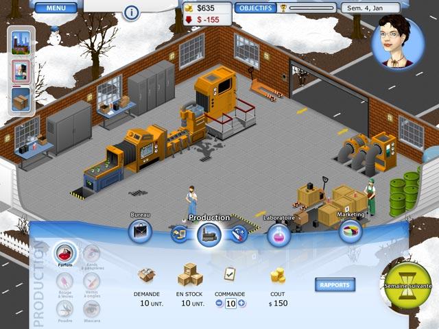Capture D'écran Du Jeu 3 Beauty Factory