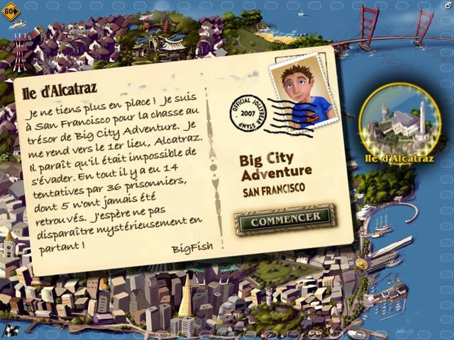 Capture D'écran Du Jeu 2 Big City Adventure - San Francisco