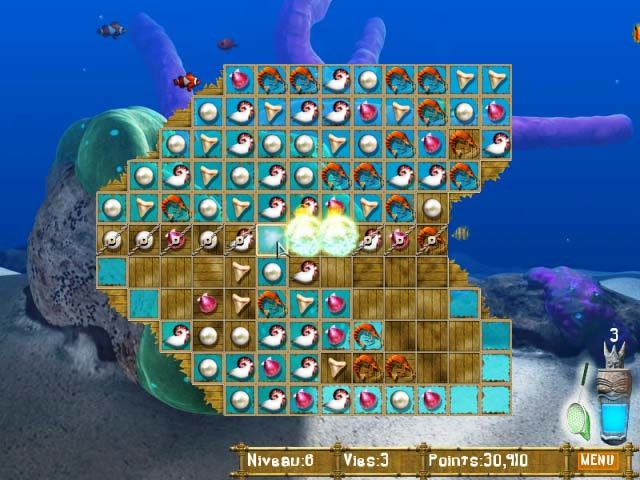 Capture D'écran Du Jeu 1 Big Kahuna Reef
