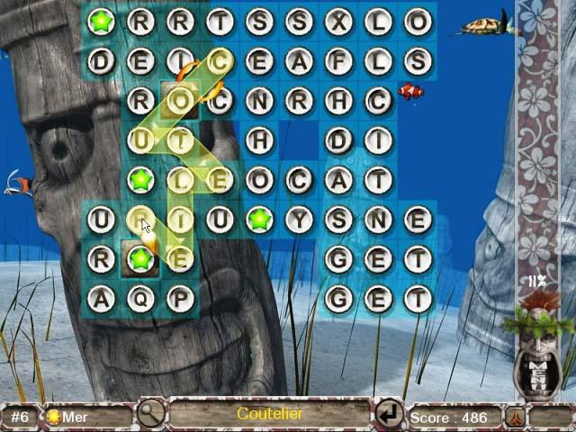 Capture D'écran Du Jeu 3 Big Kahuna Words