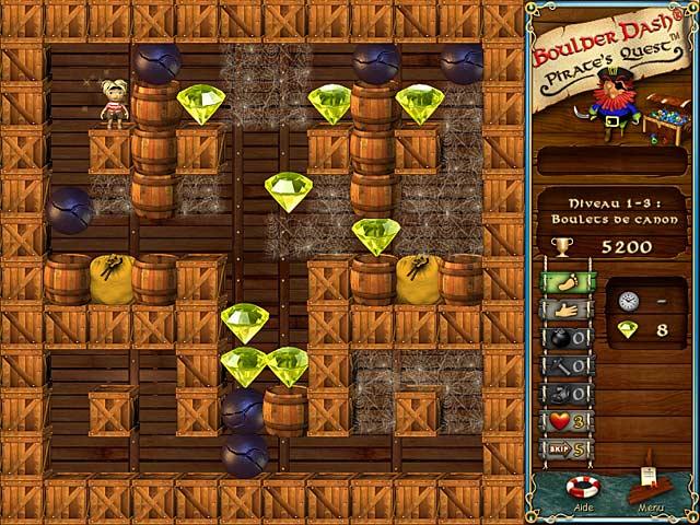Vidéo de Boulder Dash: Pirate's Quest
