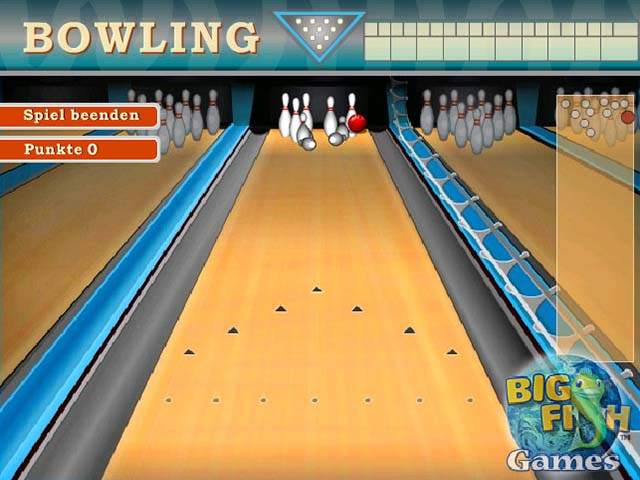 Capture D'écran Du Jeu 1 Bowling