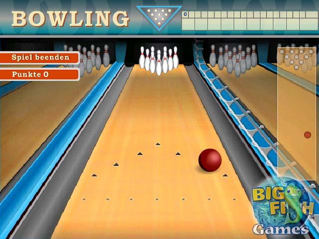 Capture D'écran Du Jeu 3 Bowling