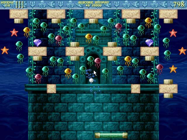 Capture D'écran Du Jeu 1 Bricks of Atlantis
