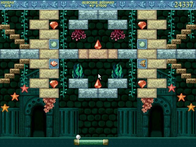 Capture D'écran Du Jeu 2 Bricks of Atlantis