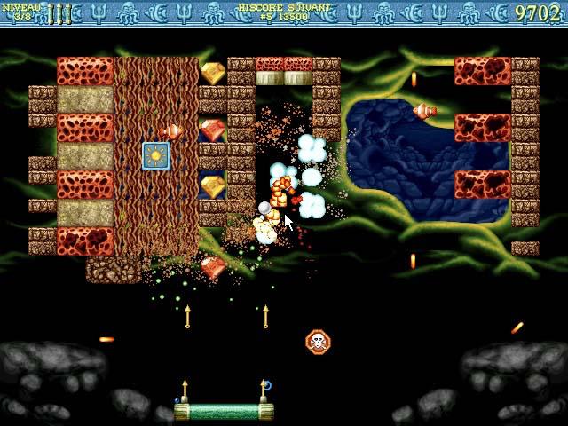 Capture D'écran Du Jeu 3 Bricks of Atlantis