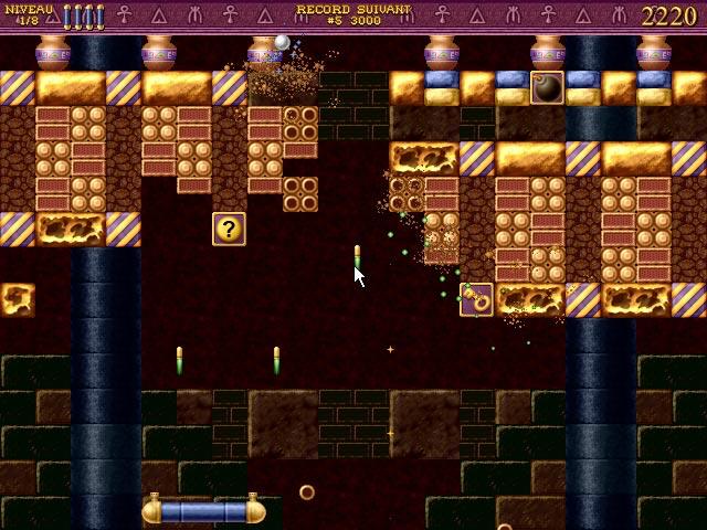 Capture D'écran Du Jeu 3 Bricks of Egypt 2