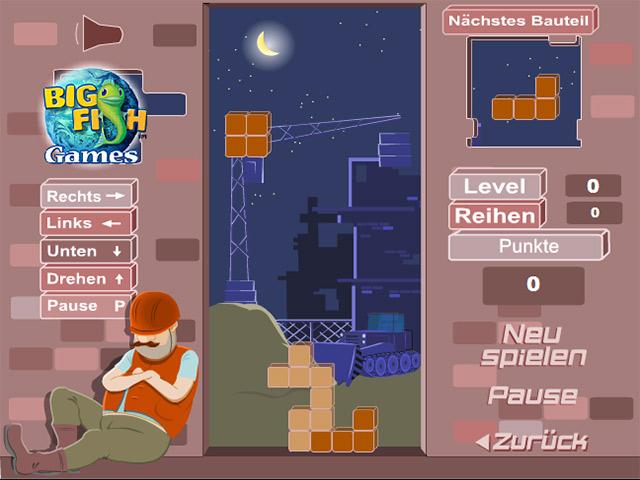 Capture D'écran Du Jeu 1 Bricktris