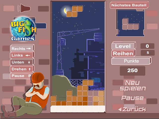 Capture D'écran Du Jeu 2 Bricktris
