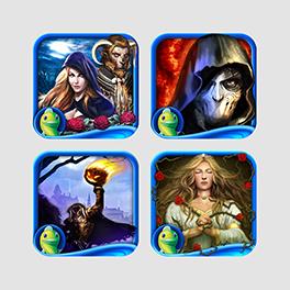 Jeux d'aventure et de contes de fées inquiétants pour iPad de Big Fish