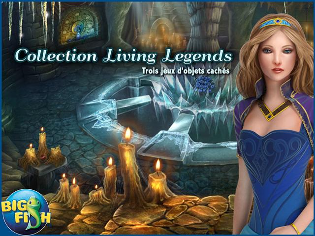 Capture d'écran de Collection Living Legends – Trois jeux d'objets cachés