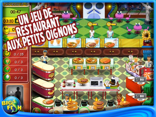 Capture d'écran de Burger Bustle: Cuisine Bio