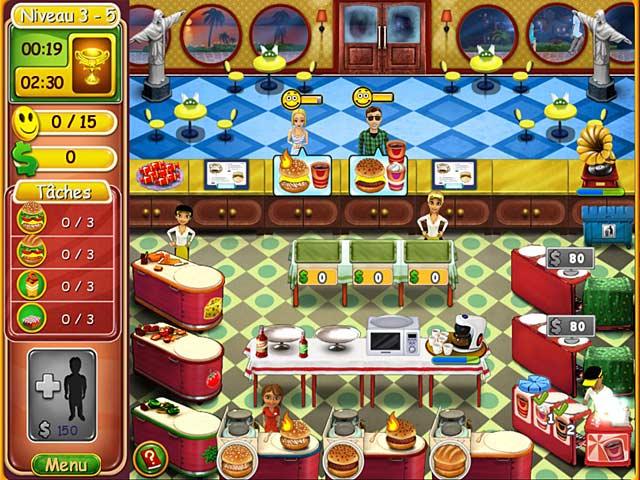Burger bustle cuisine bio jeu ipad iphone android et - Jeu de cuisine android ...