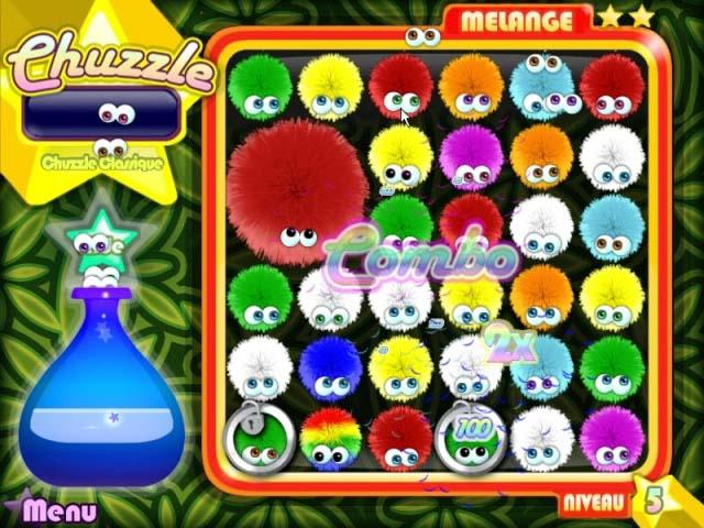 Capture D'écran Du Jeu 3 Chuzzle Deluxe