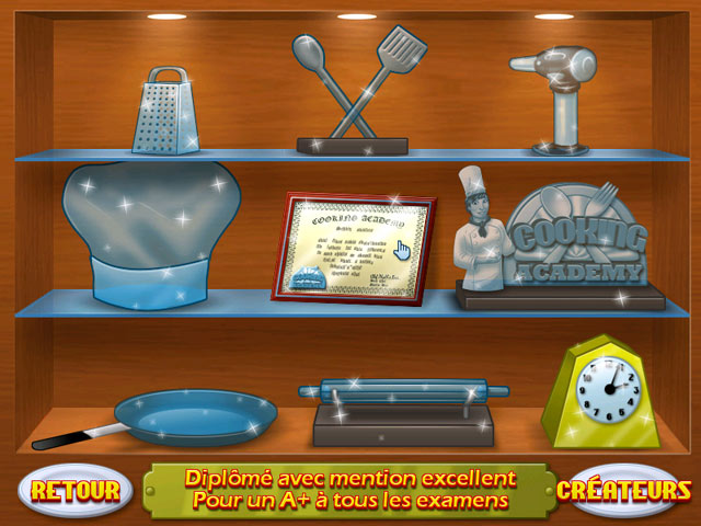 Jouer cooking academy en ligne jeux en ligne sur big fish for Big fish cooking games