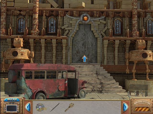 Capture D'écran Du Jeu 1 Crossworlds: La Cité Volante