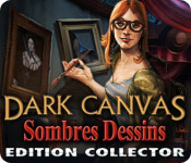 Dark Canvas: Sombres Dessins Edition Collector