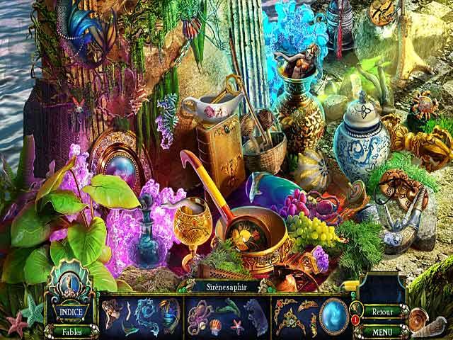 Capture D'écran Du Jeu 2 Dark Parables: La Petite Sirène et la Marée Mauve Edition Collector