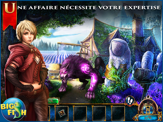 Capture d'écran de Dark Parables: La Reine des Sables Edition Collector