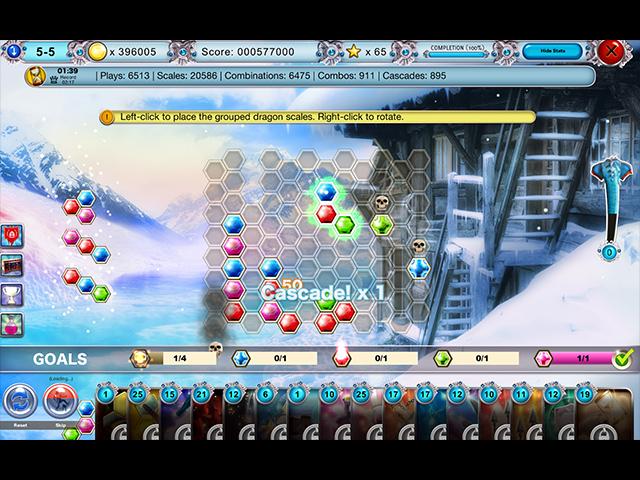 Capture D'écran Du Jeu 1 DragonScales 5: The Frozen Tomb