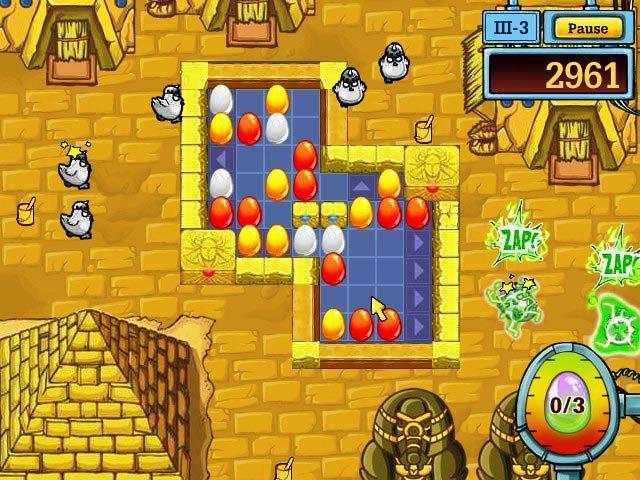 Capture D'écran Du Jeu 1 Egg vs. Chicken