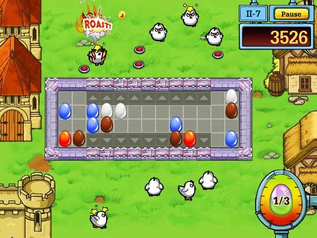 Capture D'écran Du Jeu 2 Egg vs. Chicken