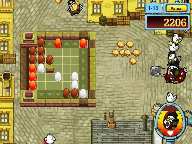Capture D'écran Du Jeu 3 Egg vs. Chicken