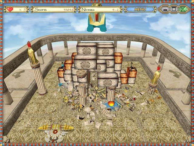 Capture D'écran Du Jeu 2 Egyptian Ball