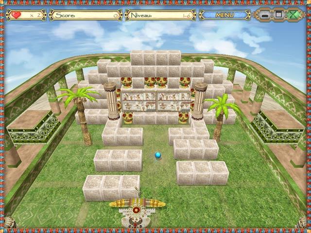 Capture D'écran Du Jeu 3 Egyptian Ball