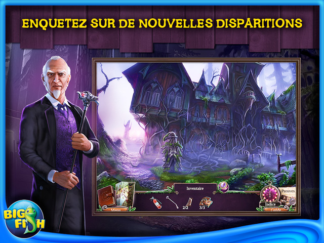 Capture d'écran de Enigmatis: Les Brumes de Ravenwood Edition Collector