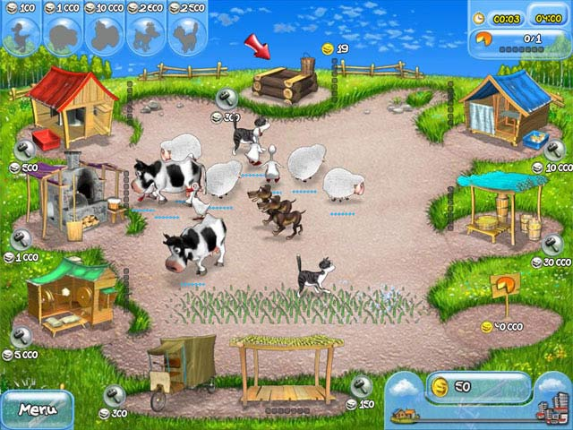 Capture D'écran Du Jeu 1 Farm Frenzy