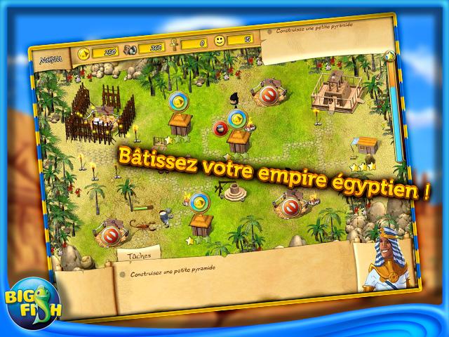 Capture d'écran de Fate of the Pharaoh
