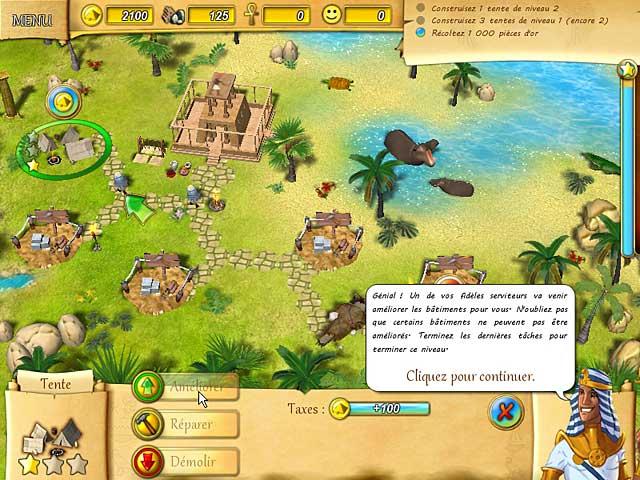 Capture D'écran Du Jeu 3 Fate of the Pharaoh