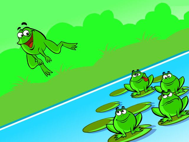 Capture D'écran Du Jeu 3 Frogs