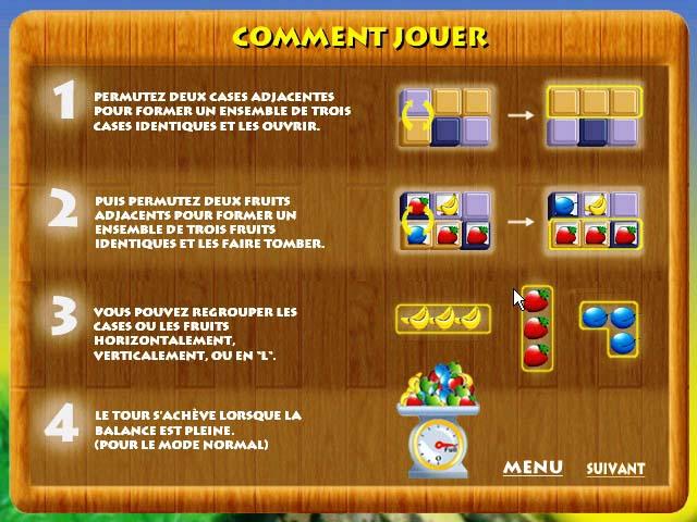 Capture D'écran Du Jeu 3 Fruit Lockers
