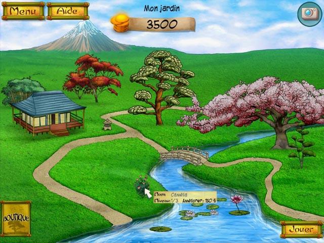 Capture D'écran Du Jeu 3 Geisha: Le Jardin Secret