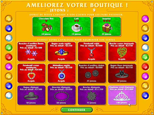 Capture D'écran Du Jeu 2 Gem Shop