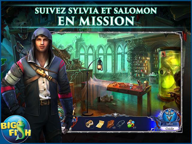 Capture d'écran de Grim Legends 3: La Ville Sombre Édition Collector