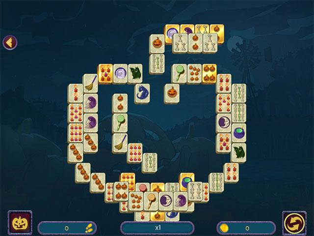 Halloween Night Mahjong img