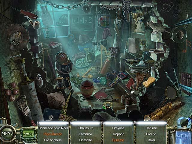 Capture D'écran Du Jeu 1 Haunted Halls: Les Peurs de l'Enfance