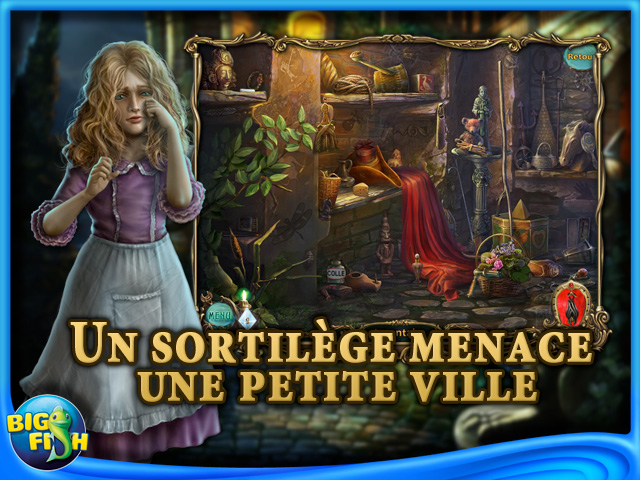 Capture d'écran de Haunted Legends: Le Cavalier de Bronze Edition Collector