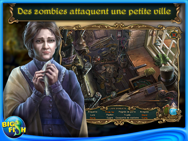 Capture d'écran de Haunted Legends: Le Malheur des Uns... Edition Collector