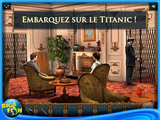 Capture d'écran de Hidden Mysteries®: Return to Titanic