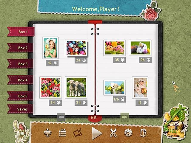 Capture D'écran Du Jeu 1 Puzzle de Fête Pâques