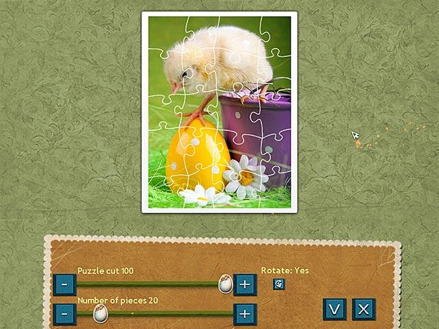Capture D'écran Du Jeu 2 Puzzle de Fête Pâques