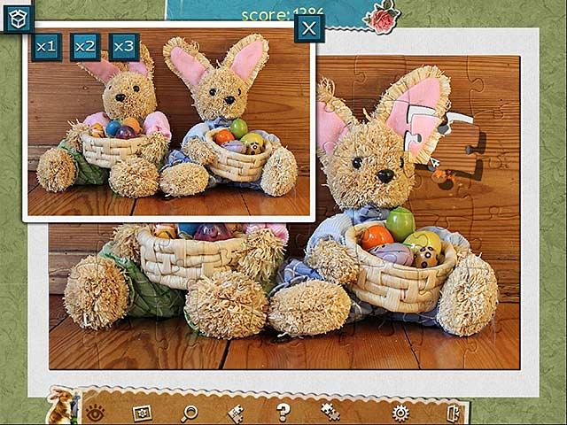 Capture D'écran Du Jeu 3 Puzzle de Fête Pâques