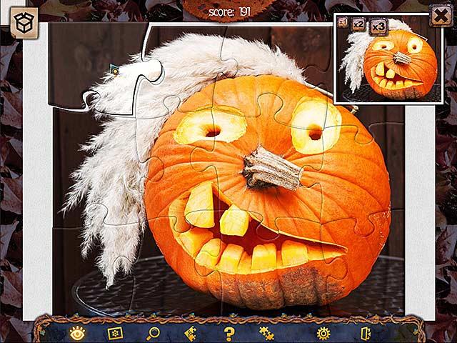 Capture D'écran Du Jeu 1 Puzzle de Fête 2 Halloween