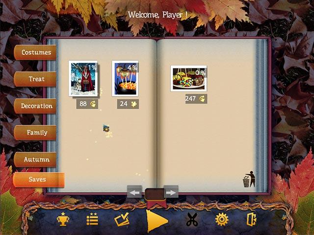 Capture D'écran Du Jeu 2 Puzzle de Fête 2 Halloween